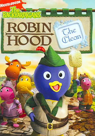 BACKYARDIGANS:ROBIN HOOD THE CLEAN BY BACKYARDIGANS (DVD)